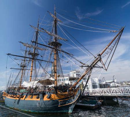 caravelle: HMS Surprise, Mus�e maritime de San Diego