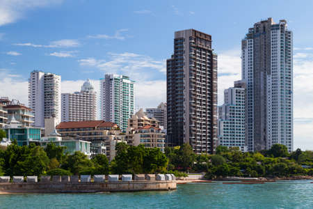 luxury apartment: Luxury high rise apartment buildings in Pattaya