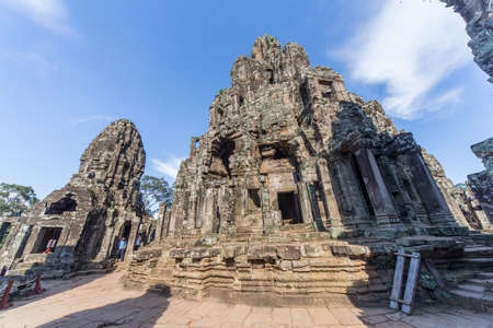 prasat bayon: Towers and upper terrace of Prasat Bayon temple