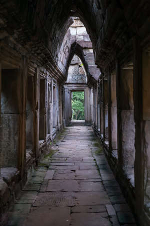 angkor thom: Gallery in Baphuon temple, part of the Angkor Thom city