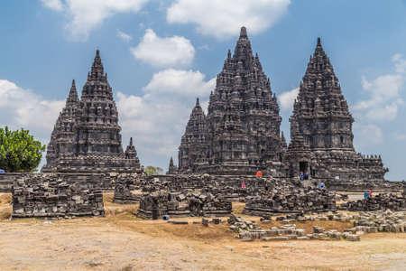 hindu: Candi Rara Jonggrang, part of Prambanan Hindu temple, Indonesia