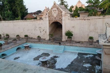 YOGYAKARTA: Plataran Tamansari bath in Kraton, Yogyakarta, Indonesia