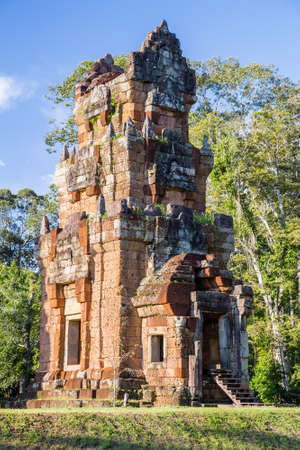 angkor thom: North Khleang tower in Angkor Thom complex