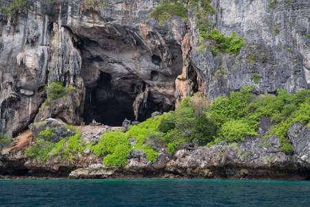 phi: Viking Cave on Phi Phi Lee island, Thailand