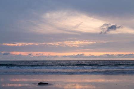 Sunset on Patong Beach, Phuket island, Thailand