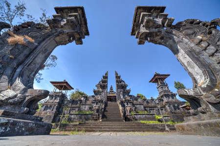 balinese: Gates to Pura Besakih Balinese temple