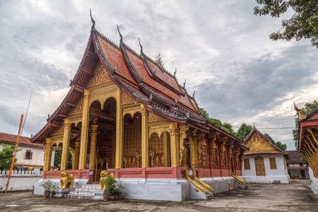 ラオス、ルアンパバーン ワット セヌ寺