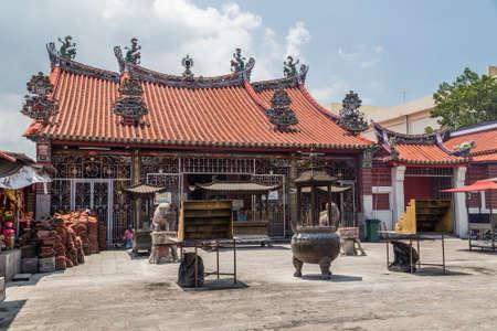 culture: Georgetown, PenangMalaysia - circa October 2015: Kuan Yin Chinese buddhist temple in Georgetown, Penang, Malaysia