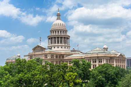 Texas State Capitol in Austin, TX Редакционное