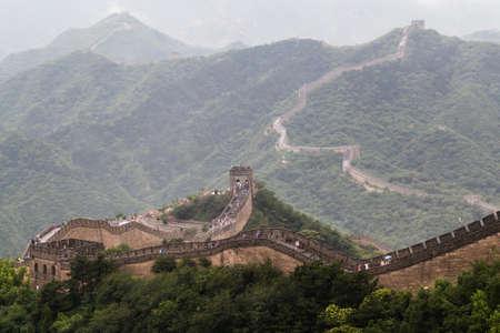 simatai: Great Wall in Beijing, China