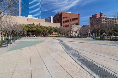 pioneer: Pioneer Plaza in Dallas, Texas
