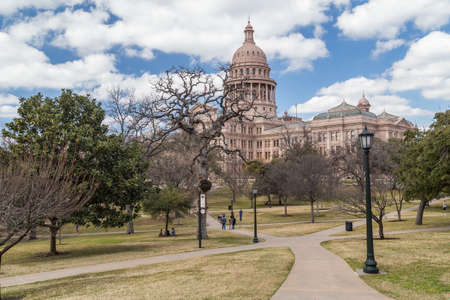 downtown capitol: Texas State Capitol in Austin, TX Editorial