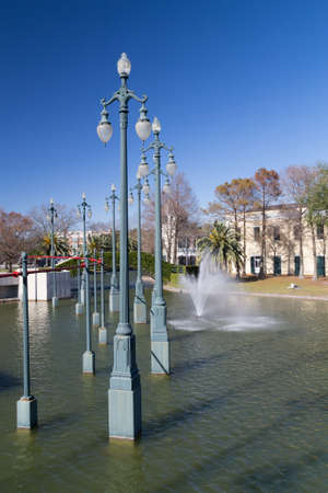 louis armstrong: Louis Armstrong Park in New Orleans, Louisiana