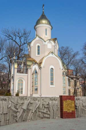 russian orthodox: Russian Orthodox Chapel in Vladivostok, Russia