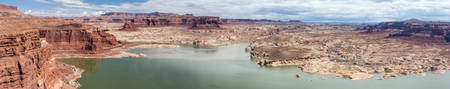 glen: Hite Marina on Lake Powell and Colorado River in Glen Canyon National Recreation Area