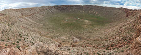 crater: Meteor Crater, also known as Barringer Crater is a meteorite impact crater