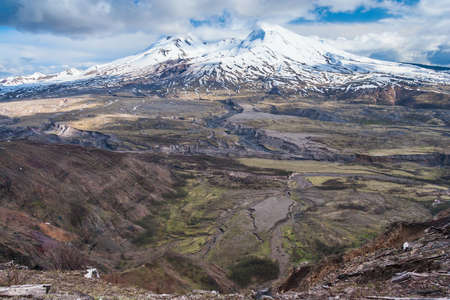 helens: Mount St. Helens in Washington, USA