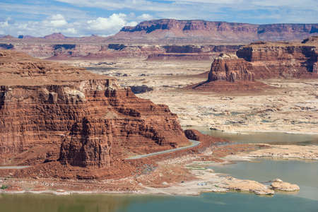 recreation area: Hite Marina on Lake Powell and Colorado River in Glen Canyon National Recreation Area