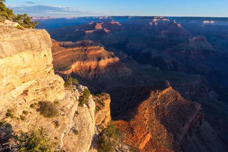 pima: Sunrise at Pima Point of Grand Canyon, South Rim, Arizona, USA