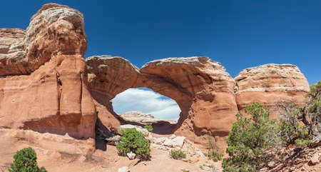 Broken Arch in Arches National Park, Utah, USA