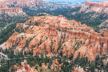 pinnacle: Hoodoo Pinnacle Stone at Bryce Canyon National Park, Utah, USA Stock Photo