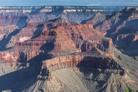 Formations at Grand Canyon, South Rim, Arizona, USA 版權商用圖片
