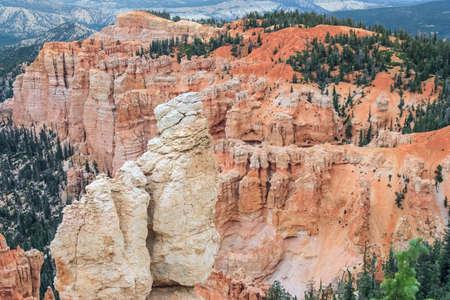 hoodoo: Hoodoo Pinnacle Stones at Bryce Canyon National Park, Utah, USA