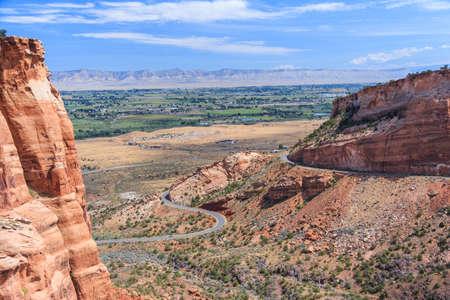 Colorado National Monument at Grand Junction, Colorado, USA