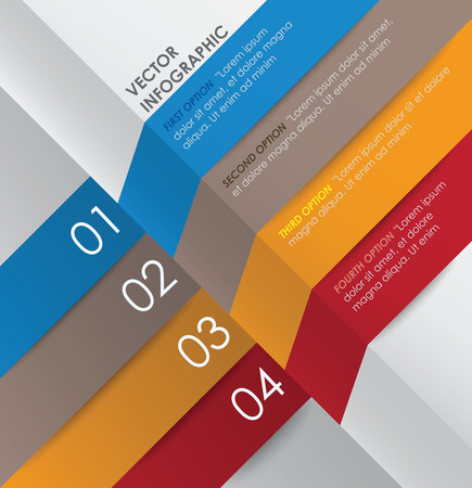 Banner Design Template - Infographic Vector