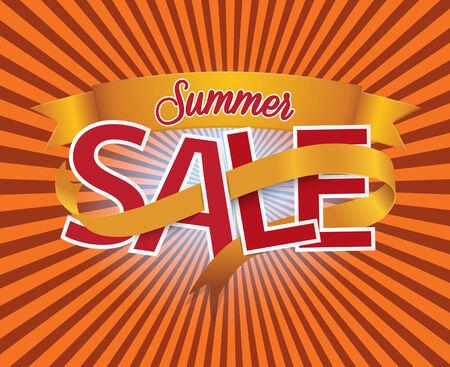 imperfections: Summer Sale  Vector design elements