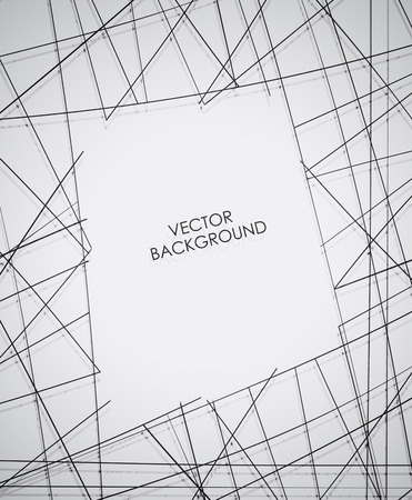 Abstract Line Background Vector.