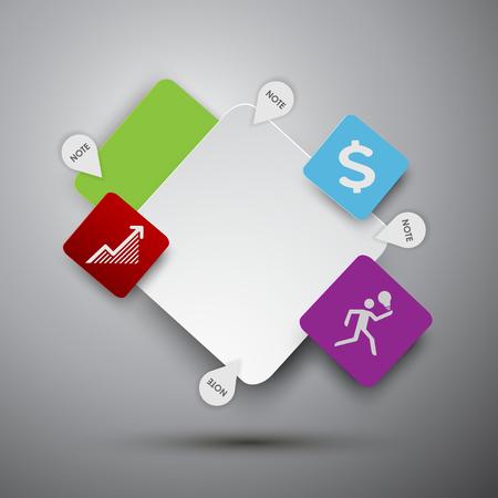 text box design: Text box design vector.