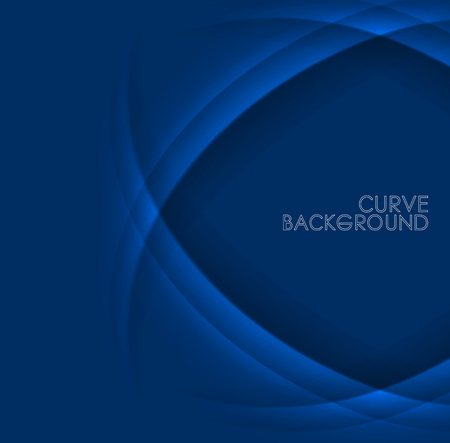 Vector curves background.