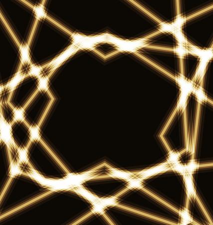 fx: Abstract futuristic modern line digital background. Illustration