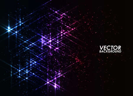 bright: Abstract background - bright colorful lights