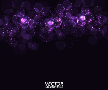 abstract vector background: Abstract modern bokeh digital - Vector Background.