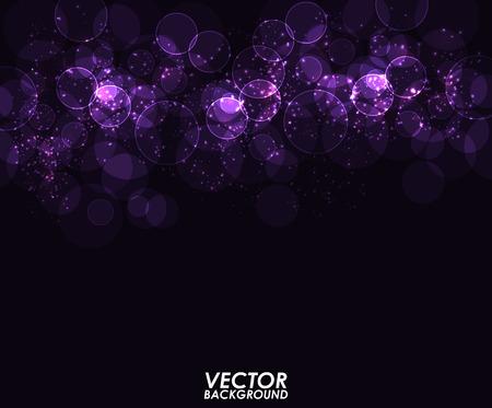 Abstract modern bokeh digital - Vector Background.