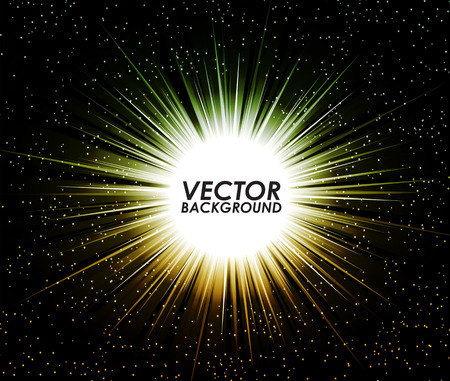 beam of light: Abstract digital background design with a burst, lens flare. Vector illustration