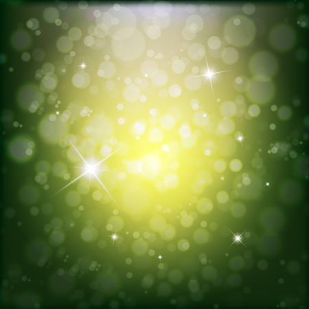 twinkling: Abstract background with twinkling stars bokeh. Vector illustration.