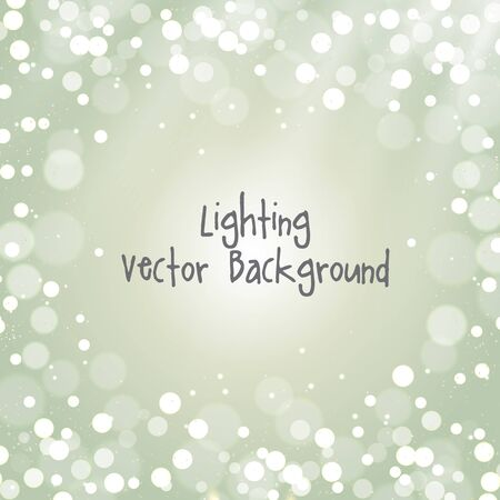 Abstract background with twinkling stars vintage and bokeh. Vector illustration.