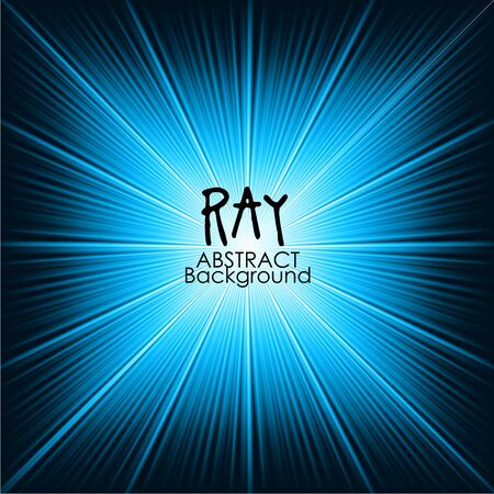 ray of light: Blue abstract magic light background. Ray vector background wallpaper. Illustration