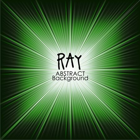 ray of light: Green abstract magic light background. Ray vector background wallpaper.