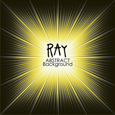 ray of light: Yellow abstract magic light background. Ray vector background wallpaper.