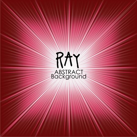 light ray: Red abstract magic light background. Ray vector background wallpaper.