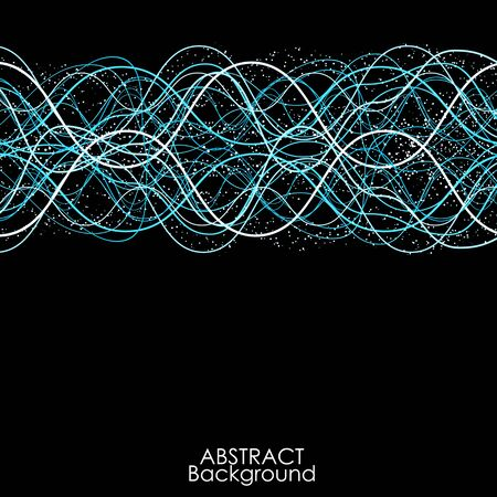 line: Abstract line Wave background.