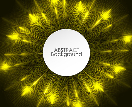 technology abstract background: Abstract circle lights pattern technology background.