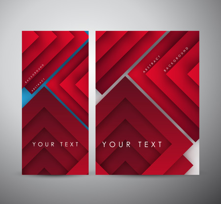 Brochure business design Abstract modern geometric digital - Vector Background.