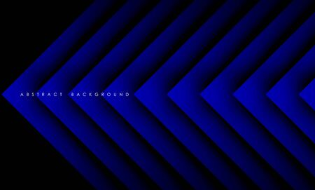 Abstract modern blue triangle digital, Vector Background.