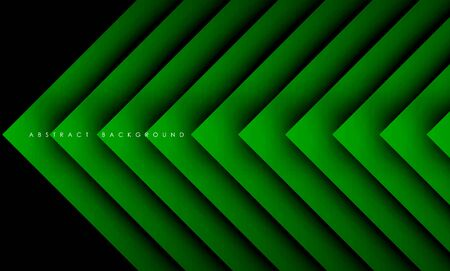 Abstract modern green triangle digital, Vector Background.