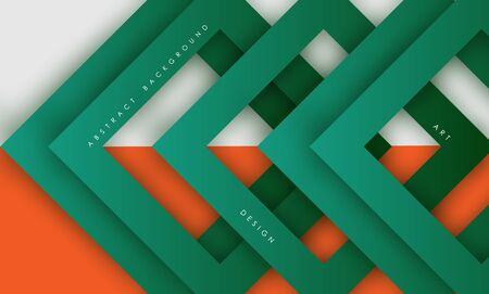 Abstract modern green triangle digital - Vector Background.